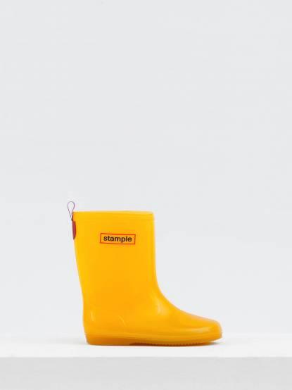 stample 日本製兒童果凍雨鞋 - 黃