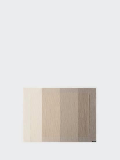 chilewich chilewich 餐墊 矩形 Color Tempo - 象牙白