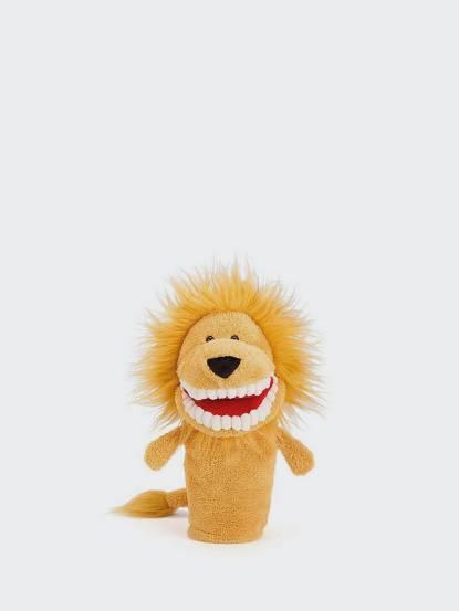 JELLYCAT Toothy Lion Hand Puppet 暴牙獅手偶 - 28cm