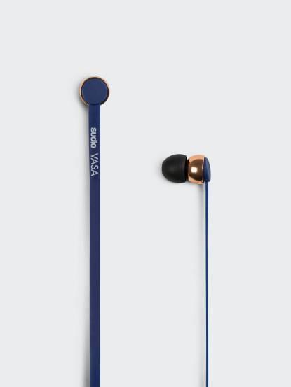 sudio VASA 耳道式扁線耳機 - iOS 專用 / 藍