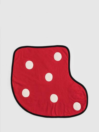 CLARECHEN Forever fun 毯 - 推車椅襪子毯 / 紅