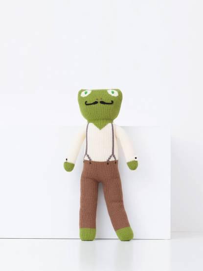 blabla kids Luigi 大鬍子青蛙先生 舒眠娃娃 / 45cm