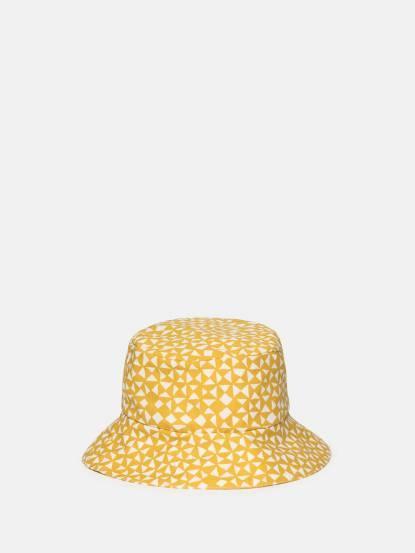 trixie 有機棉遮陽帽 - 金黃起司