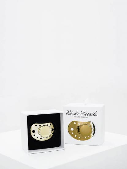 Elodie Details 限量版金色安撫奶嘴禮盒 / 拇指型