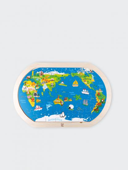 Hape 世界地圖拼圖