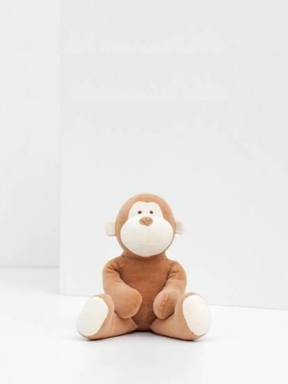 miYim 有機棉安撫娃娃 32 cm - 布布小猴