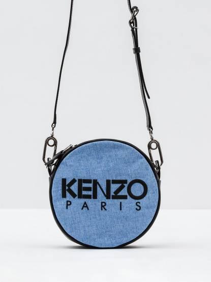 KENZO Speedy Circle Bag 圓型小肩包 - 淡藍