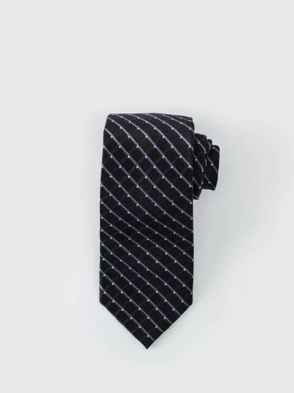 MICHAEL KORS 典雅繁星領帶 - 黑 x 藍
