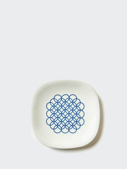 TZULAï 老磁磚系列 - 8 吋圈圈輕食盤
