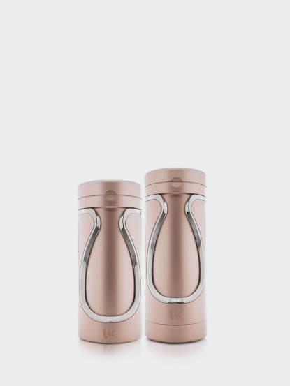 tic TRAVEL 旅遊收納瓶 - 沐浴 + 保養組 / 玫瑰金