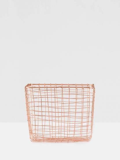 ALCHEMADE 復古工藝紅銅網編置物籃