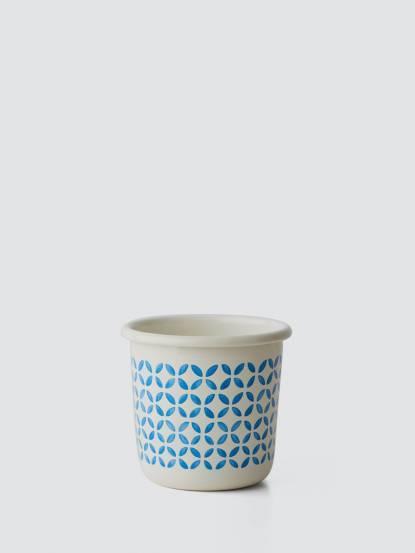TZULAï 手繪琺瑯杯 - 磚紋