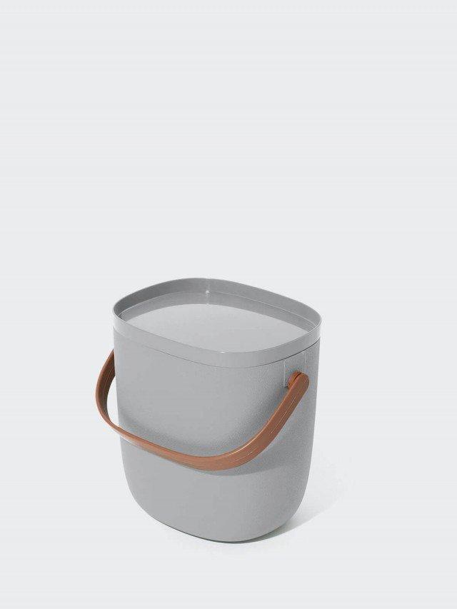 QUALY 手提式置物箱 3.5L x 灰