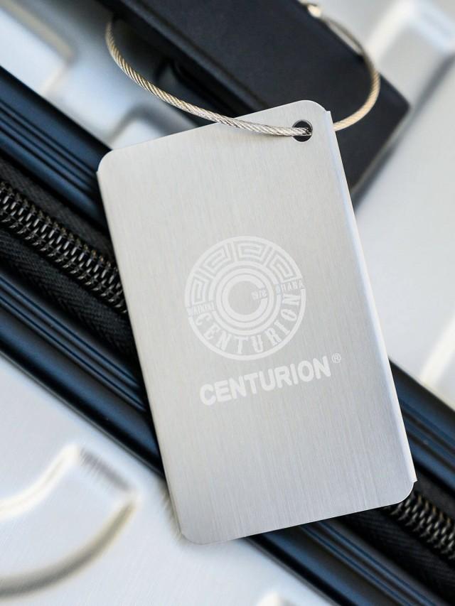 CENTURION 法籮牌行李吊牌 - 斯米蘭銀灰