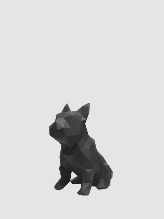 MAROKKA 幾何狗雕塑 x 黑色