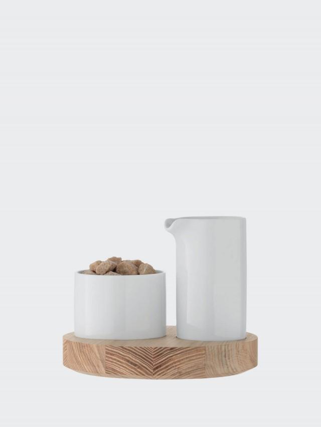 LSA LOTTA 木底調味料盤