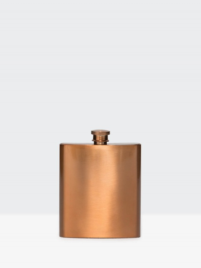 W&P DESIGN Copper Flask 銅製隨身酒壺