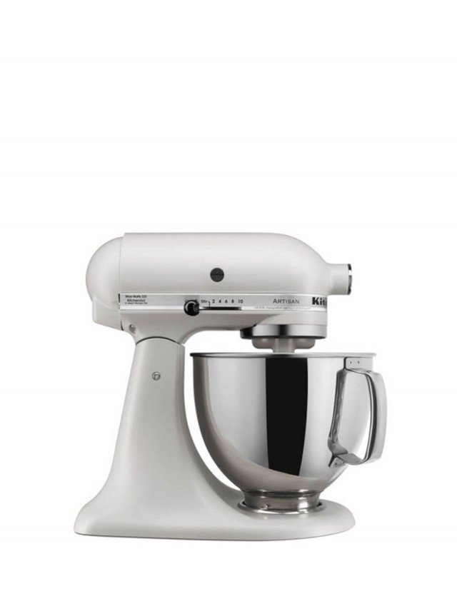 KitchenAid 5Q 桌上型攪拌機 - 奶昔白