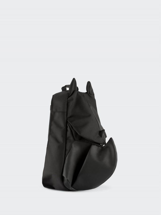 ORIBAGU ORIBAGU 摺紙包 - 黑犀牛 / 後背包 / 小