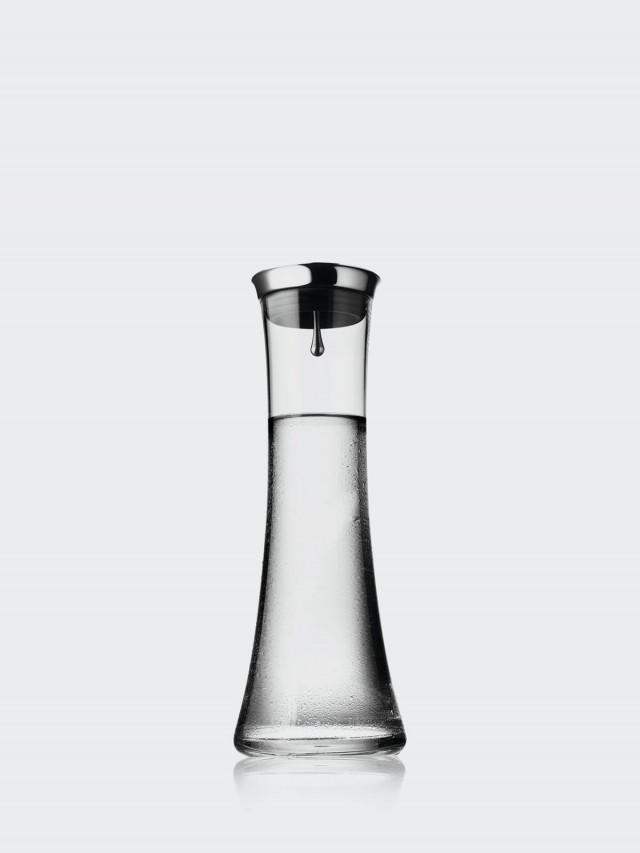 MENU 晶瑩曲線水罐 0.8L - 不鏽鋼蓋