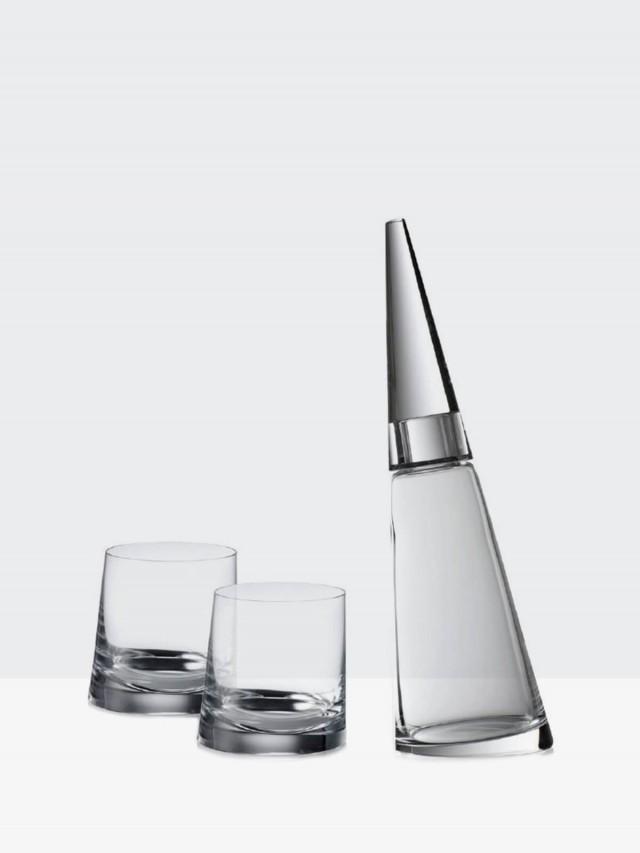 ROGASKA 90度,至愛 - 烈酒醒酒器 / 威士忌杯 * 2 組合