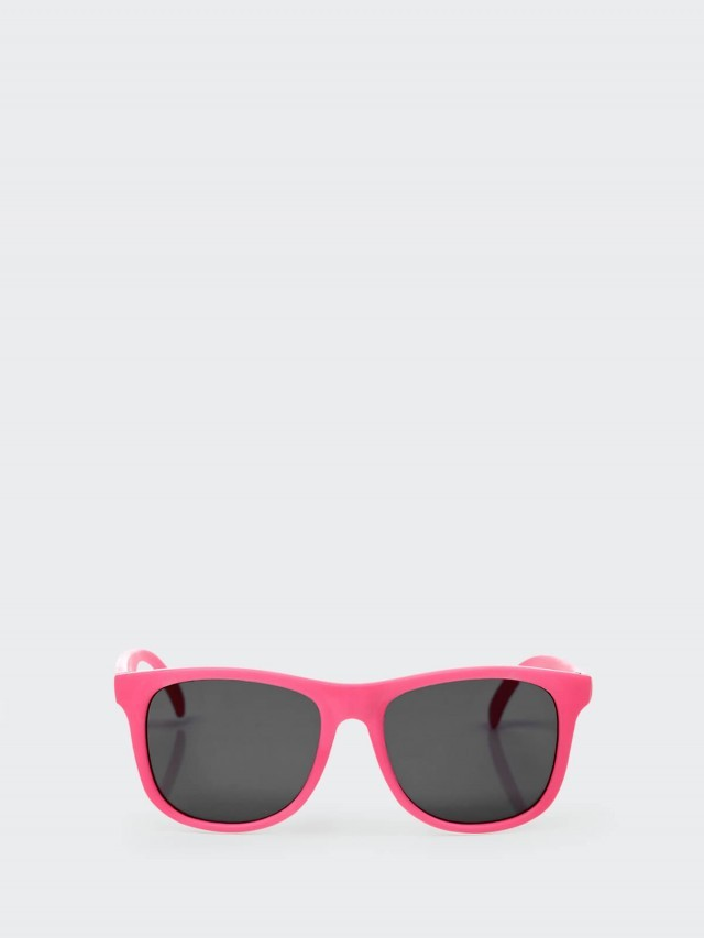 Hipsterkid 抗 UV 時尚嬰童偏光太陽眼鏡 - 桃
