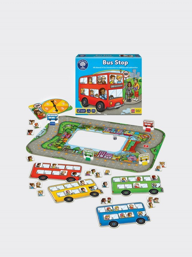 ORCHARD TOYS 桌遊 - 歡樂公車GO! Bus stop