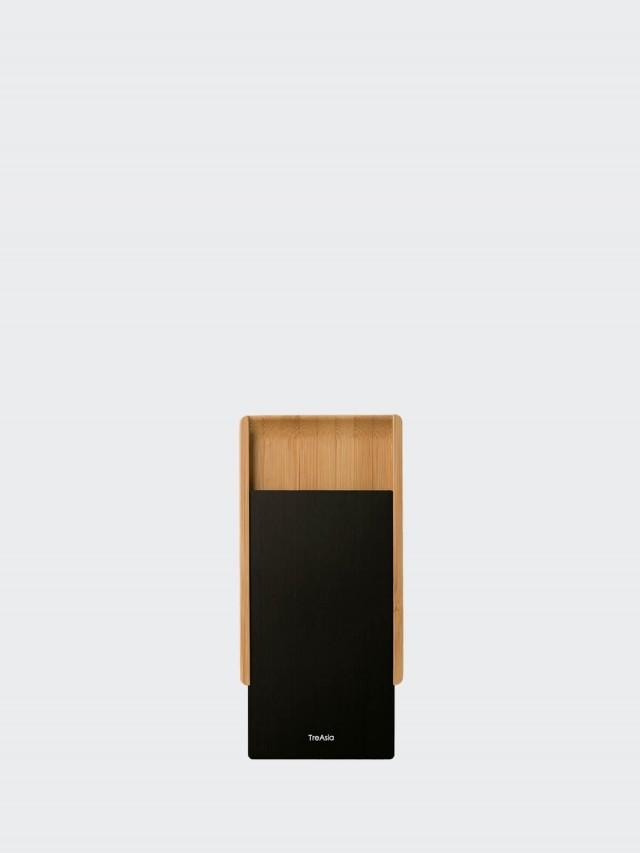 TA+d 燻竹名片盒 - 黑