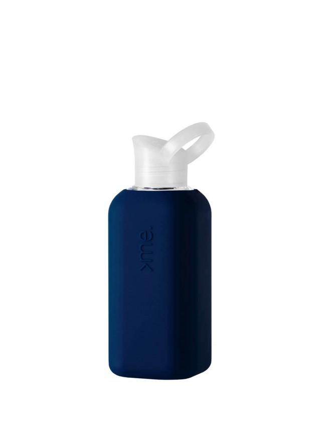 SQUIREME. 玻璃水瓶 - 海軍藍
