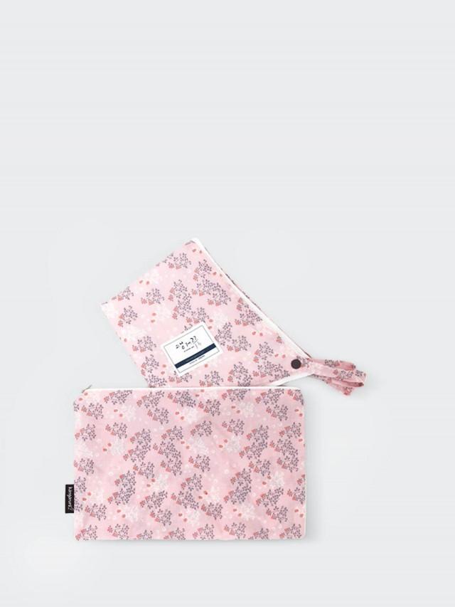 kangaruru 森林雲寶寶外出毯 x 粉紅花園