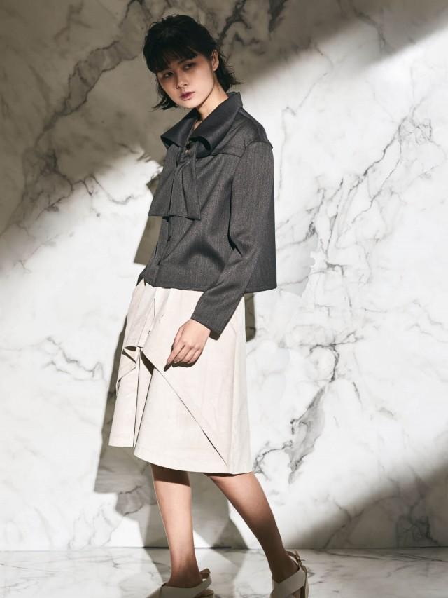 AUSTIN W. 短版外套 - 深灰色