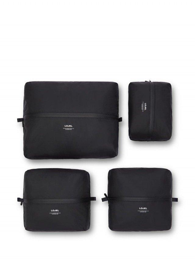 LOJEL Slash 衣物收納袋 ( 4 入裝 ) - 黑色