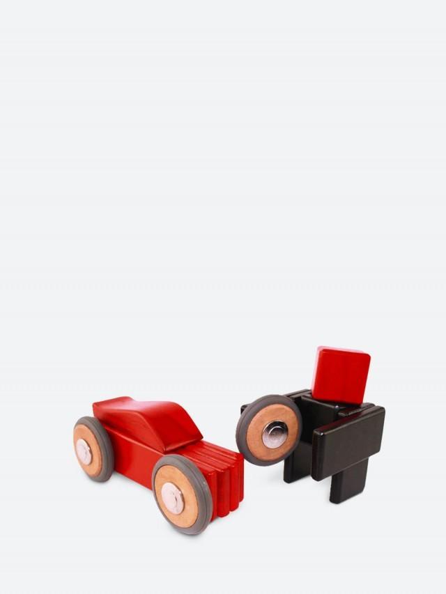 tegu 磁性積木 - 噗噗車系列 - 達特 / 紅