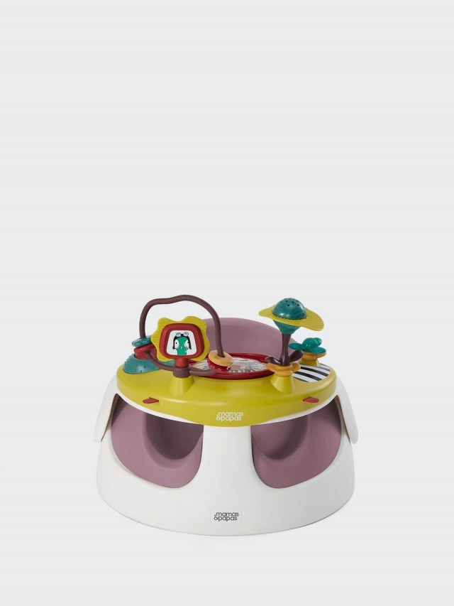 Mamas & Papas 二合一育成椅 - 乾燥玫瑰 / 玩樂盤