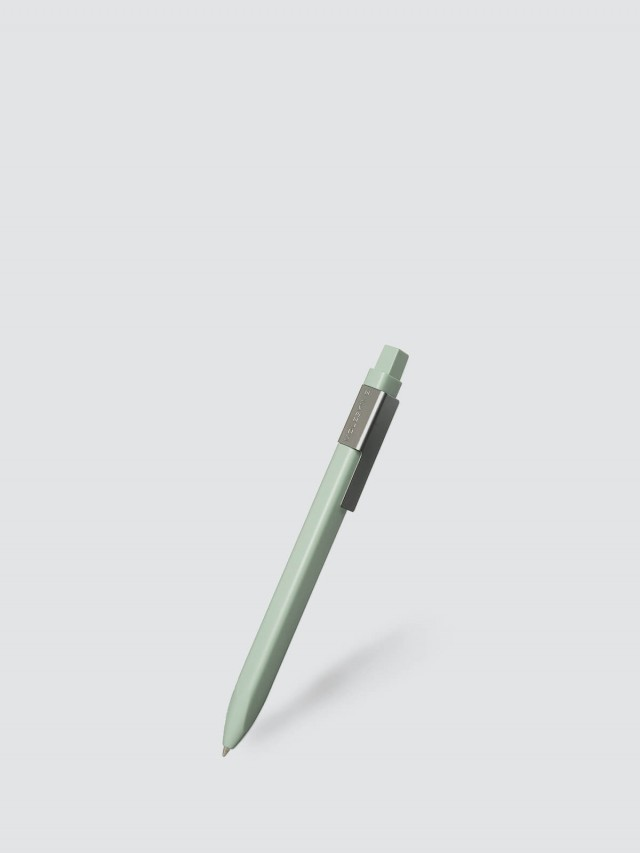 MOLESKINE 經典按壓式原子筆 - 1.0 / 淺綠