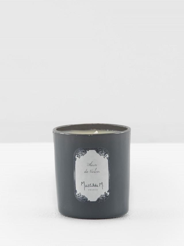 MATHILDE M. 黑瓶香氛蠟燭 - 棉花