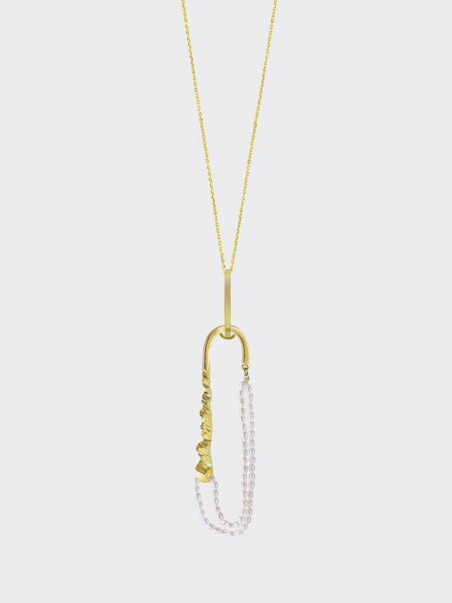 OLIVIA YAO JEWELLERY 項鍊 Oval axis necklace