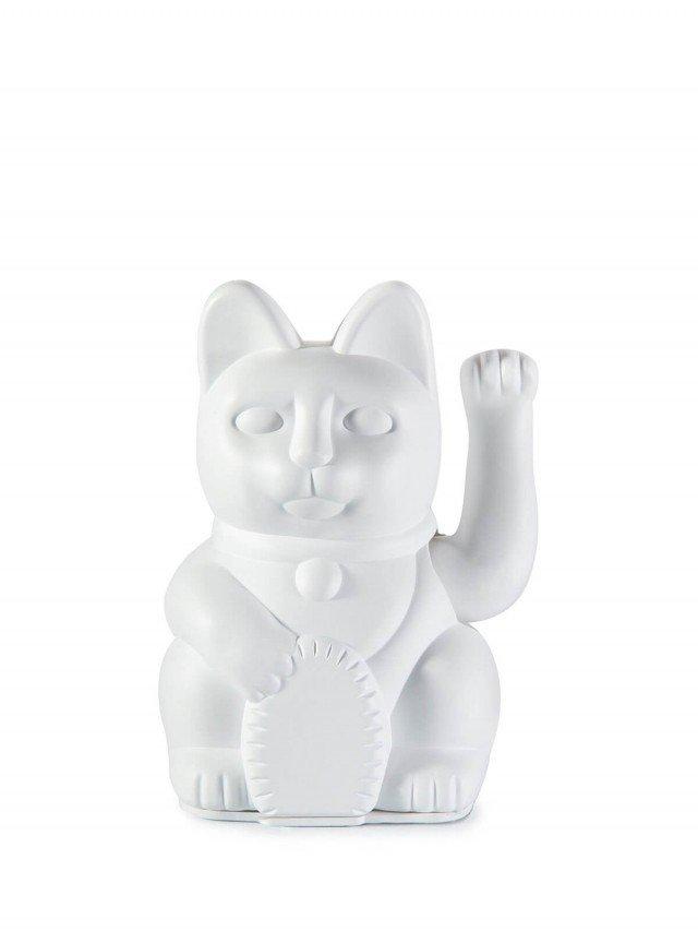 DONKEY 幸運繽紛招財貓 標誌圖形 DIY 版(附貼紙)- 白
