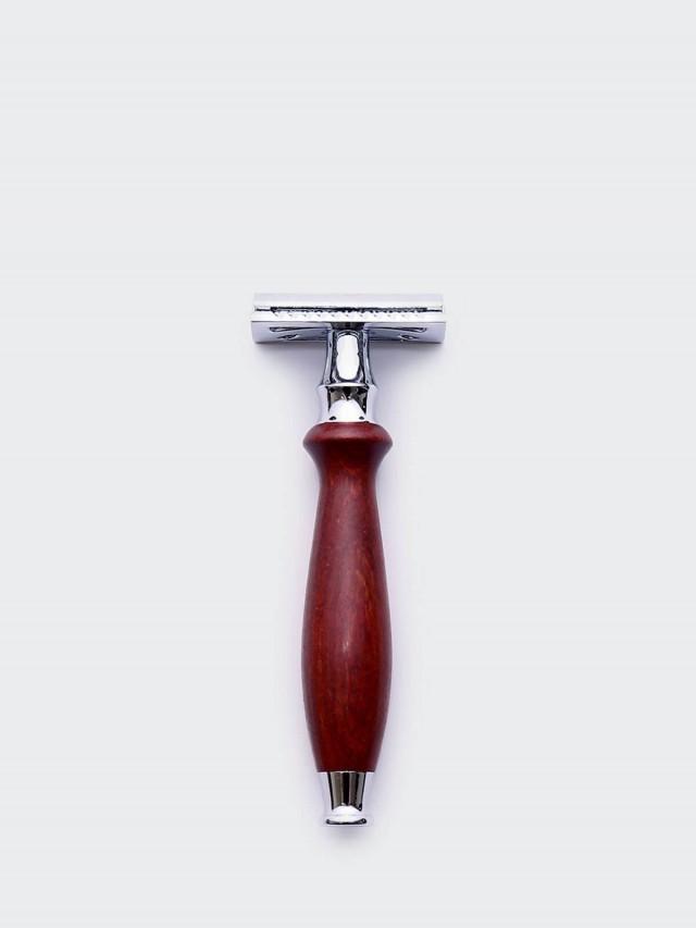 Grand Manner 尊爵系列 / 復古雙刃手動安全刮鬍刀 - 紅檀木