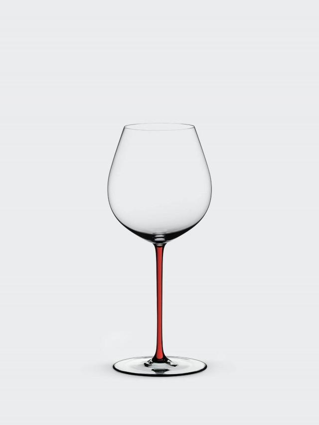 RIEDEL FATTO A MANO - Old World Pinot Noir 黑皮諾手工彩色杯梗紅酒杯 - 紅