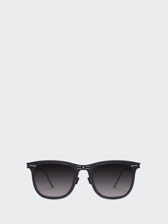 ROAV 薄鋼摺疊太陽眼鏡 -  Lennox 黑框 / 漸層黑鏡片