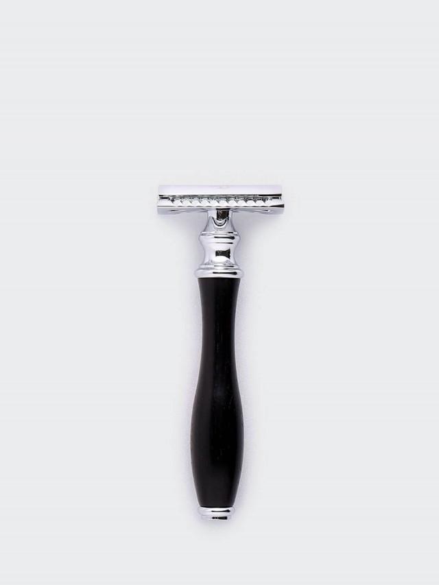 Grand Manner 尊爵系列 / 復古雙刃手動安全刮鬍刀 - 黑檀木