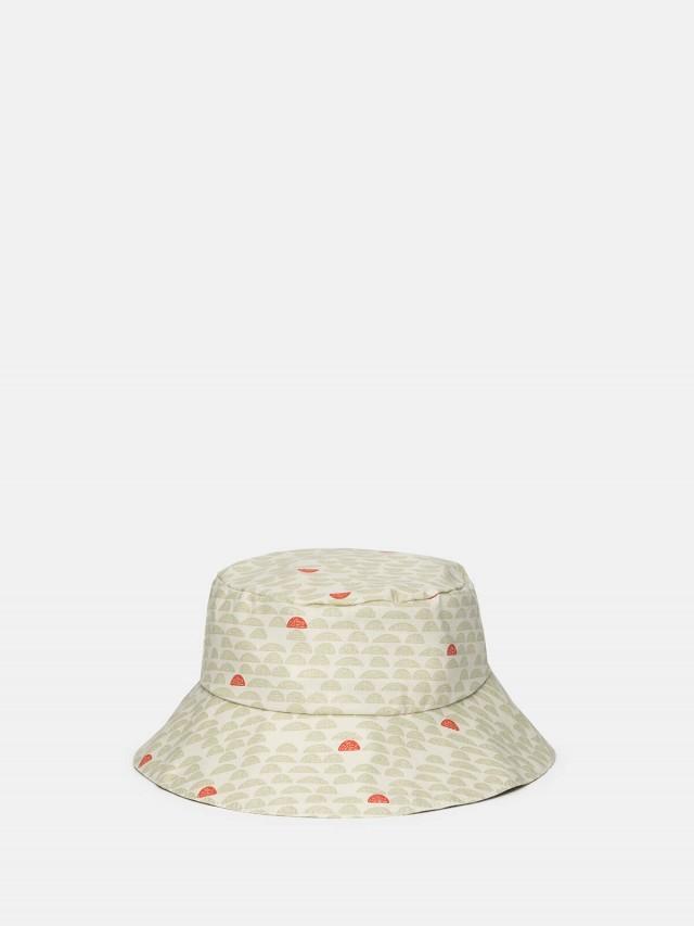 trixie 有機棉遮陽帽 - 蘇打汽水