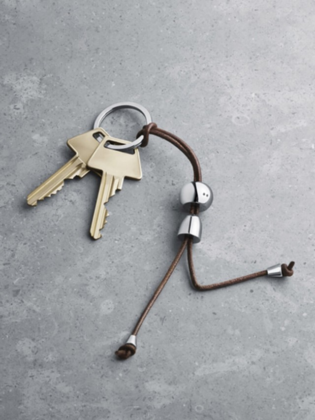 GEORG JENSEN Alfredo 系列 - 男孩鑰匙圈