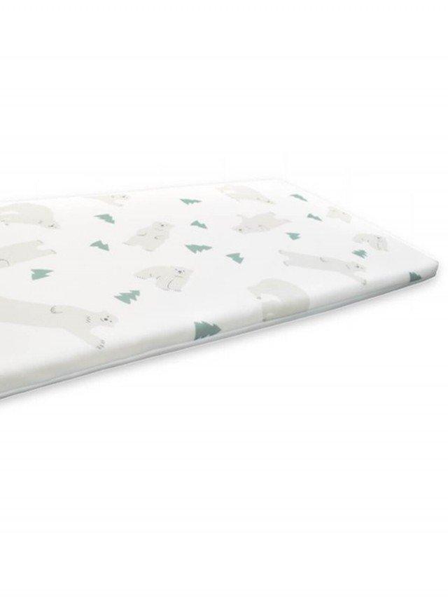 PAMABE 水洗透氣護脊嬰兒床墊 - HI FIVE 北極熊