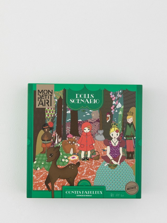 Mon Petit Art 法國迷你劇場組 - 綠