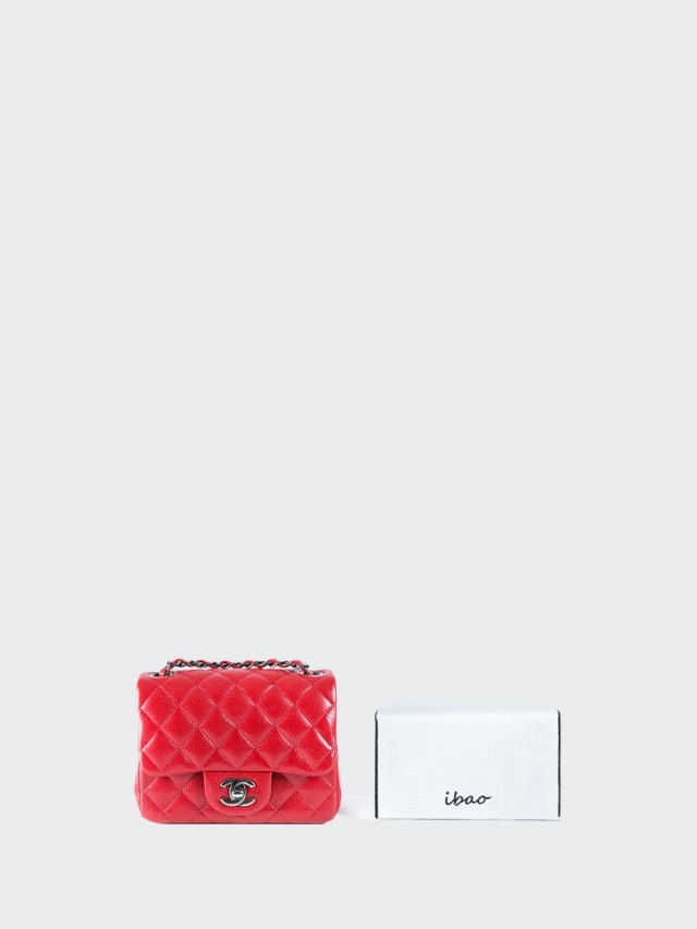 ibao [ Luxe - CC17 ]Chanel Classic Flap Square mini bag 專用 ibao 愛包枕