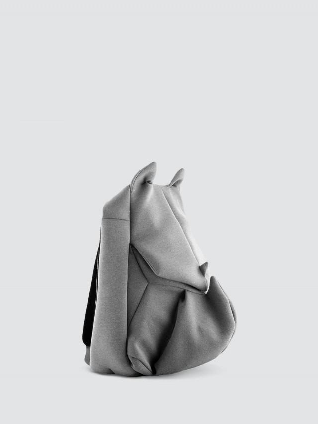 ORIBAGU ORIBAGU 摺紙包 - 灰犀牛 / 後背包 / 小