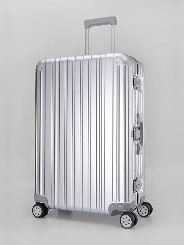 Swiss Style 極緻奢華鋁鎂合金行李箱 - 29 吋 / 時尚銀