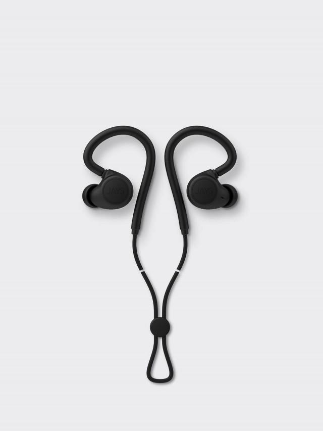 JAYS m - Six 運動型無線藍芽耳機 - 黑